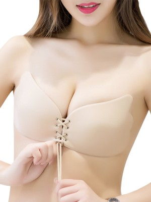 3/4 Cup Strapless Silicone Invisible Bra