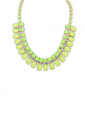 Occident Elegant Stylish all-match Blocks Necklace