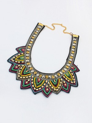 Occident Hyperbolic Ethnic Personality Necklace