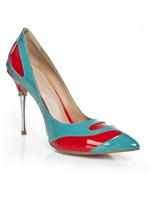 Women's Stiletto Heel With Chain Closed Toe Evening Shoes