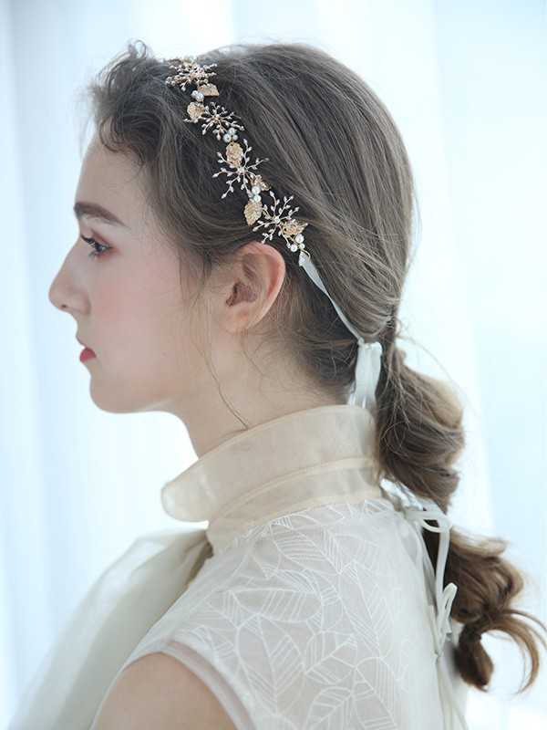 Elegant Imitation pearls Headpieces